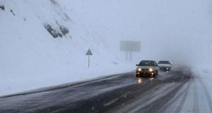 جاده های برفی کشور