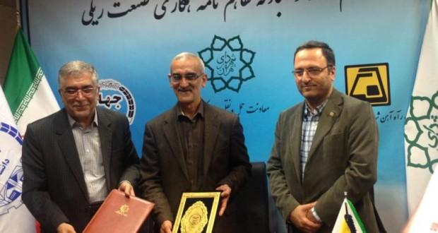 مشارکت جهاد دانشگاهی در توسعه مترو تهران