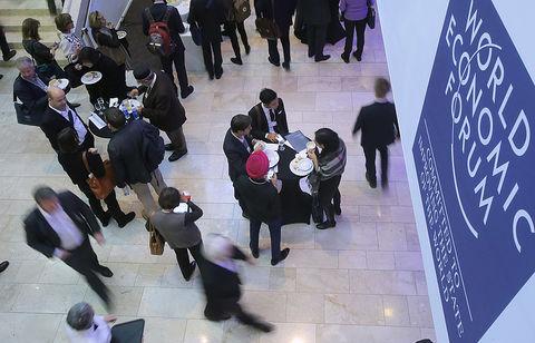 آغاز به کار چهل و هشتمین مجمع اقتصاد جهانی در سوییس