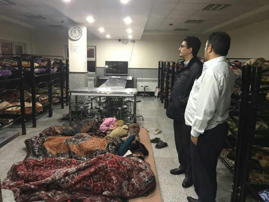 پذیرایی از افراد نیازمند در مددسرای قلب تهران