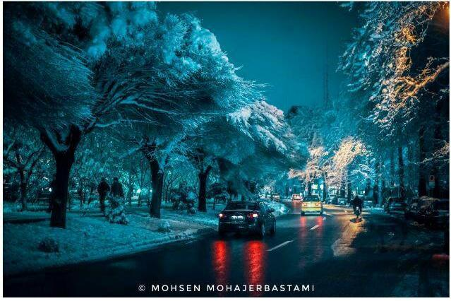 ساماندهی پرژوکتورهای روشنایی و برجهای نوری قلب تهران