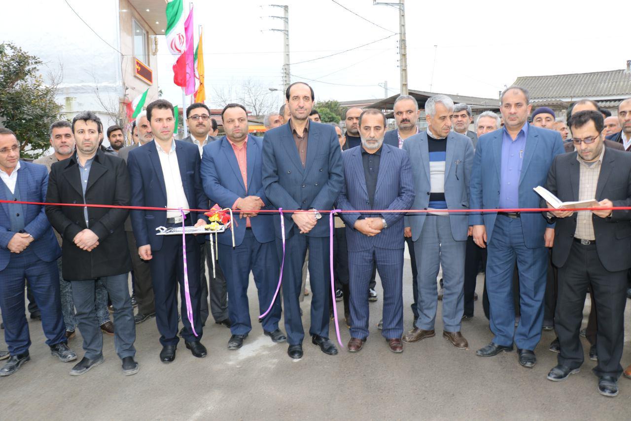 افتتاح یک نیروگاه برق و ۷ طرح عمرانی در آمل
