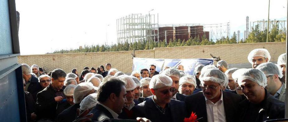یک واحد تولیدی لبنی با ۱۵ کارگر در دامغان به بهره برداری رسید