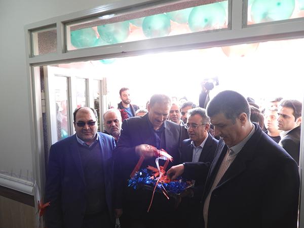 افتتاح مدرسه ی احداث شده توسط بانک ملت در میاندوآب