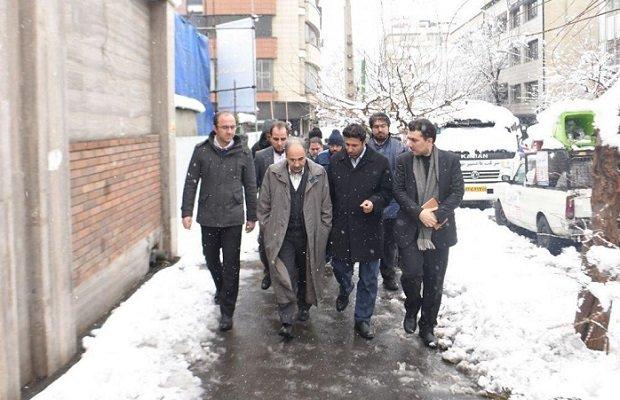 شهرداری تهران برای بارش مجدد برف در پایتخت آماده است