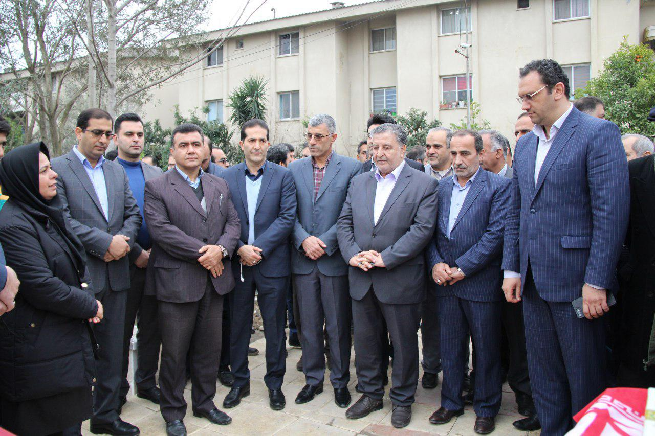 پنج طرح زیربنایی و خدماتی شهرداری آمل افتتاح شد