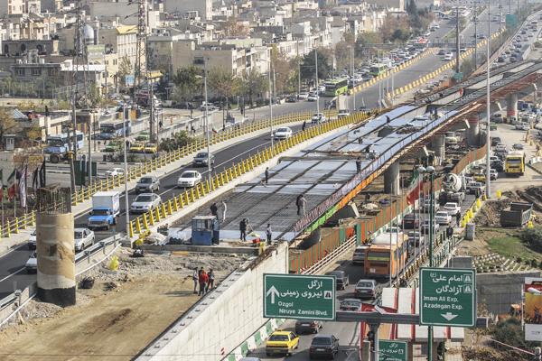 بزرگراه ارتش، ورودی اصلی شمال شرق تهران می شود