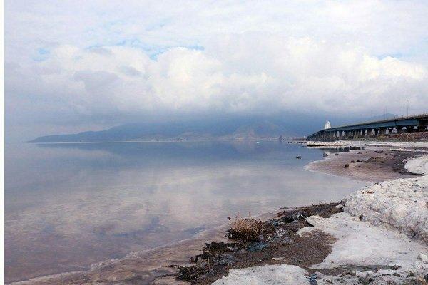 ۵۰۰ میلیون مترمکعب به حجم آب دریاچه ارومیه افزوده شد