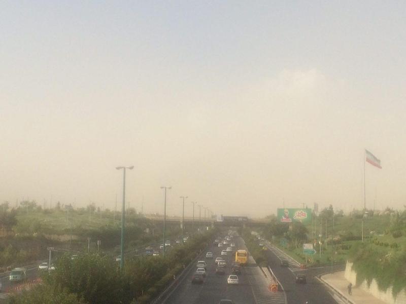پیش بینی باد شدید و گرد و خاک در استان تهران