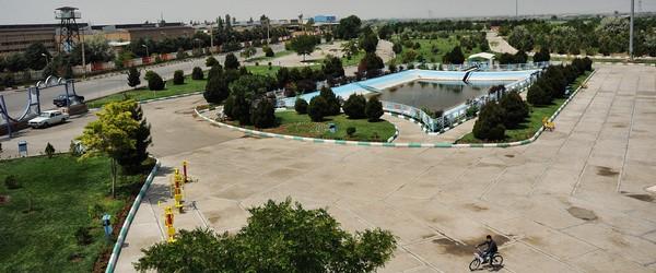احداث بنای یادمان شهدای گمنام در بوستان رضوان منطقه ۱۰