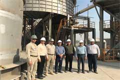 عضو هیأت مدیره بانک صنعت و معدن از طرح های استان هرمزگان بازدید کرد