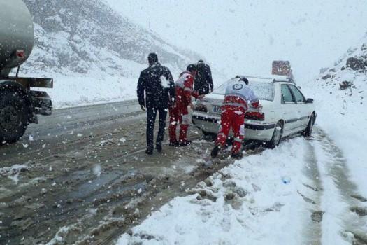 آمادهباش سازمان راهداری و حمل و نقل جاده ای در ۱۴ استان برفی