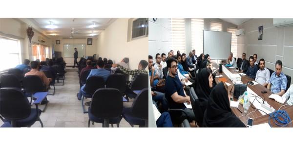 برگزاری دوره های آموزشی بیمه های آتش سوزی توسط بیمه سرمد در شعب خوزستان و مازندران