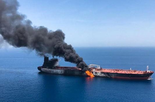 حمله به نفتکشها در دریای عمان اقدامی مشکوک است