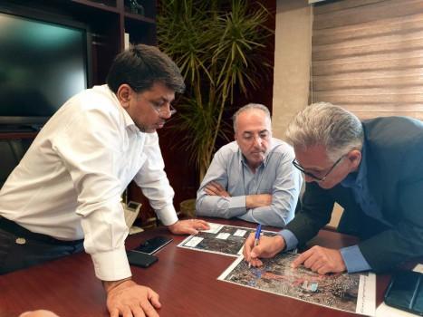 پروژه ۳۵ متری شهید افتخاری سرعت گرفت