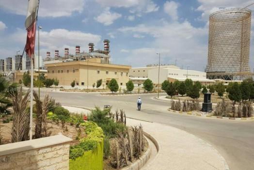 بخش بخار نیروگاه سیکل ترکیبی جهرم افتتاح میشود
