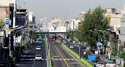 رفع گره ترافیکی در خیابان انقلاب محدوده پل چوبی
