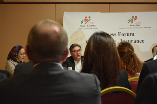 برگزاری همایش تجاری بانکها، شرکتهای بیمه و حقوقی ایران و ایتالیا در رم