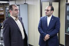 بازدید عضو هیئت مدیره بانک از شعب استان مازندران
