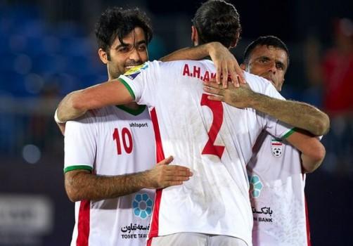 ایران؛ برای سومین بار قهرمان فوتبال ساحلی شد