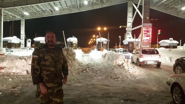 امدادرسانی تیپ ۱۱۶ ارتش به مردم گرفتار در برف استان گیلان