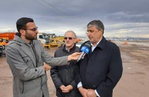 نظارت وزیر راه بر نحوه بازگشایی راههای آزادراه قزوین- رشت