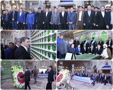 مدیران و کارکنان بانک صادرات با آرمانهای امام خمینی(ره) تجدید میثاق کردند