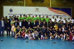 مراسم اختتامیه مسابقات ورزشی دهه فجر کارکنان بانک صنعتومعدن برگزار شد