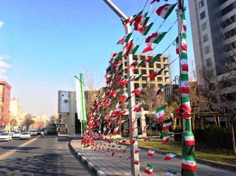 اجرای اقدامات ویژه در منطقه ۷ به منظور آماده سازی مسیر راهپیمایی ۲۲ بهمن