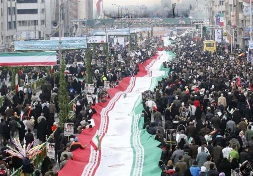 نمایش دستاوردهای انقلاب در جشن ۴۱ سالگی انقلاب