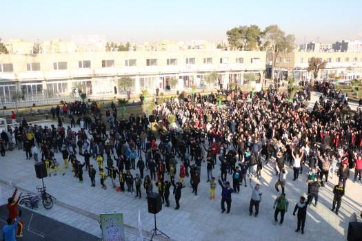 سی و هفتمین پویش ملی دوشنبههای ورزشی به میزبانی منطقه ۲۰ برگزار شد