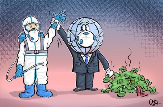 ارسال ۴۲۰۰ کاریکاتور از ۸۸ کشور به مسابقه ضدکرونایی