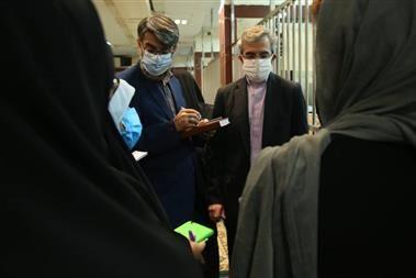 بازدید سرزده رئیس سازمان زندانها و دبیر ستاد حقوق بشر از زندان زنان