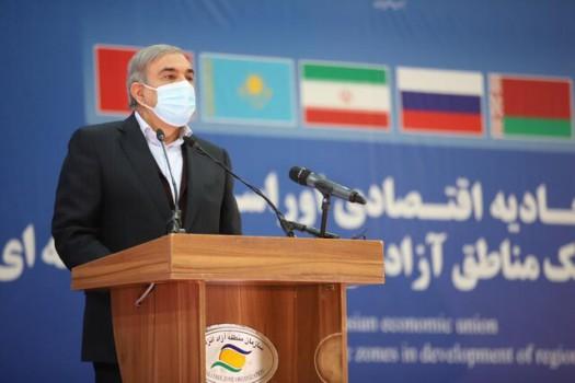 موافقت ایران و اوراسیا دسترسی به بازارهای تجاری در منطقه را تسهیل میکند