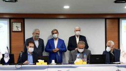 قرارداد توسعه دانشگاه خاتم در ناحیه نوآوری پردیس با حمایت بانک پاسارگاد منعقد شد
