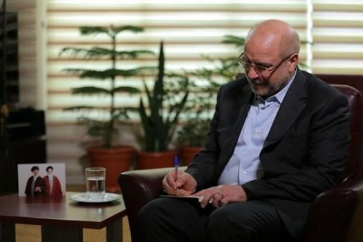 رئیس مجلس قانون «اقدام راهبردی برای لغو تحریم ها» را ابلاغ کرد