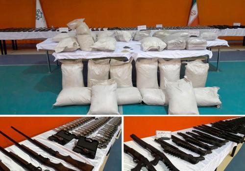 اعضای باند بین المللی قاچاق سلاح، مهمات و موادمخدر بازداشت شدند