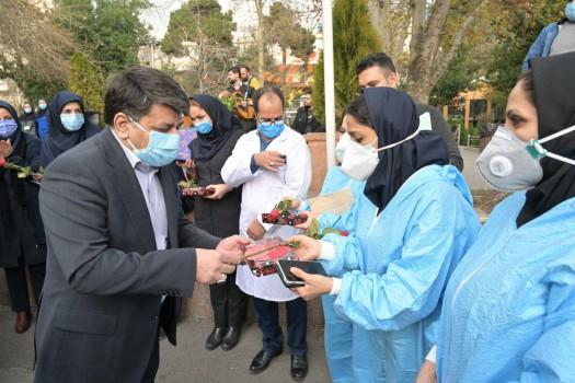 تقدیر از پرستاران مراکز درمانی شمال تهران