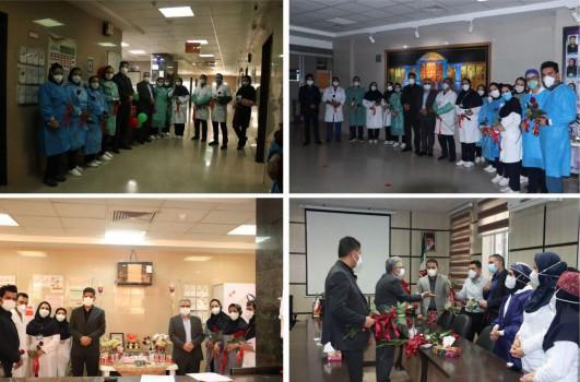 تقدیر بانک ایران زمین از تلاشگران عرصه سلامت