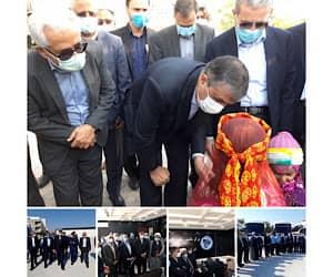 افتتاح مجتمع خدماتی، رفاهی و بین راهی صیادی با حضور وزیر راه و شهرسازی