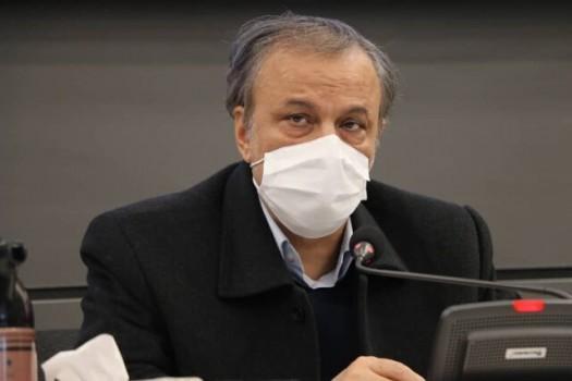وزیر صمت کرونا گرفت
