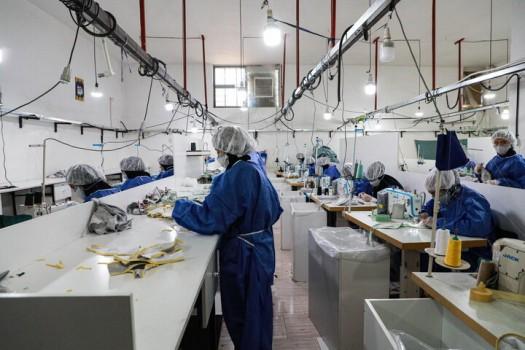 افزایش ۱۳۷ برابری تولید انواع ماسک در سال ۹۹