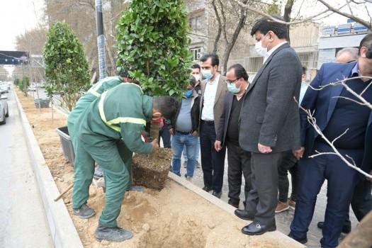 تکمیل رفیوژ سبز شریعتی در ایام نوروز ۱۴۰۰