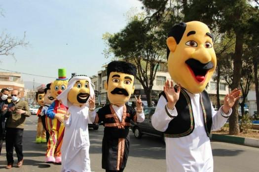 نوروز ۱۴۰۰ با حرکت ۲۰ کاروان شاد نوروزی در محلات شمال تهران