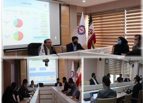 برگزاری جلسه و بررسی عملکرد شعب و تشریح برنامهها
