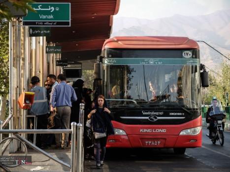 بازسازی مسیرهای BRT در قلب پایتخت