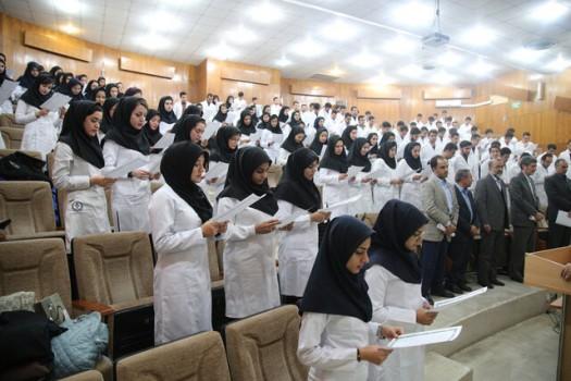 نحوه فعالیت دانشجویان علوم پزشکی تا پایان فروردین