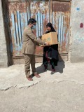 توزیع کمکهای همکاران بانک دی در سیستان و بلوچستان