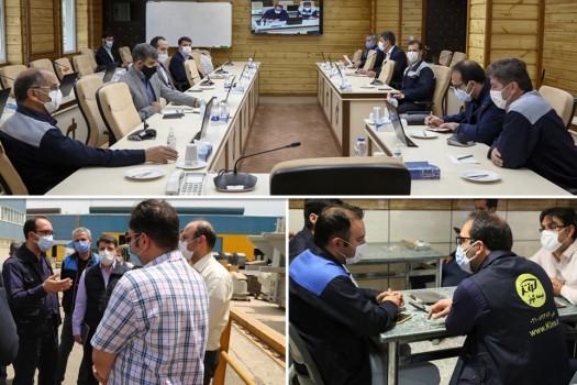 دیدار هیات ویژه بیمه کوثر با بیمهگذاران استان زنجان