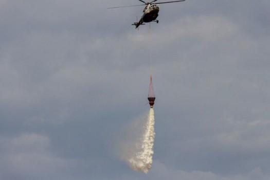 آمادگی وزارت دفاع برای کمک به اطفاء حریق هوایی جنگلهای کشور